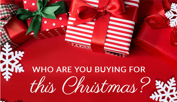 Who are you buying for this Christmas?