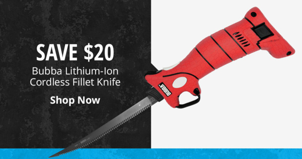 Bubba Lithium-Ion Cordless Fillet Knife